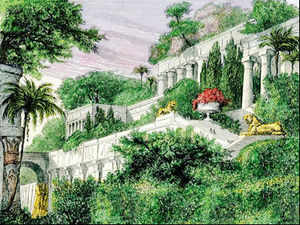 The Hanging Gardens of Babylon, one of the Seven Wonders of the Ancient World, weren't in Babylon at all – but were instead located 300 miles to the north in Babylon's greatest rival Nineveh.