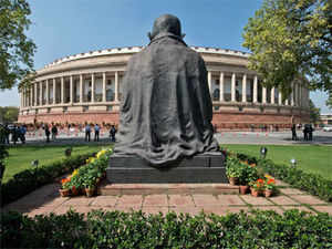 Parliament was on Tuesday adjourned till noon following Opposition uproar over alleged scam in top railway appointments, coal block allocation issue.