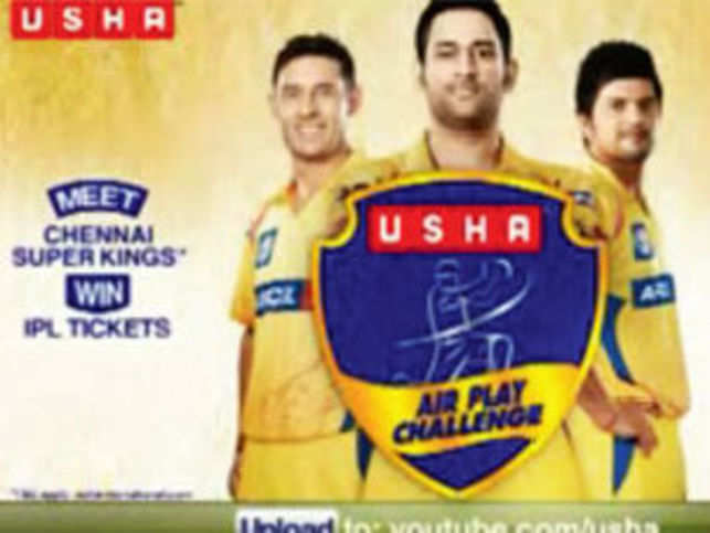 """After several years under the radar, Usha is back claiming to be """"the air experts"""". Their massive spends on IPL is at least enough to earn them the informal sobriquet of the on-air experts."""