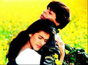 The film, which starred superstars Shah Rukh Khan and Kajol in the lead roles, won 47% of the votes in the online poll.
