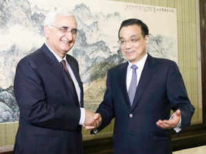 Khurshid said that special representatives of India and China will meet in a couple of months to discuss in detail the issues related to boundary.