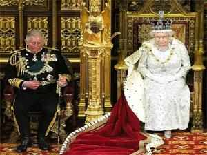 Queen Elizabeth II should step down from the British throne and allow her son Price Charles to become king if ill-health prevents her from performing her public duties, a survey has revealed here today.