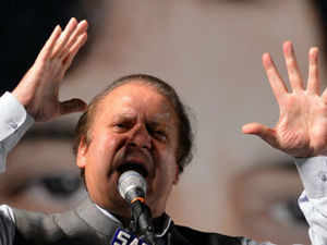 "The focus of PML-N's foreign policy will be on safeguarding the ""supreme national interest"", an unnamed close aide of Nawaz Sharif said. (Pic by AFP)"