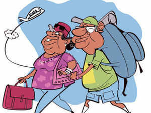 Voyaging seniors keep cash registers ringing as they fly in groups to exotic destinations