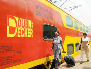 Southern Railway had recently introduced Chennai-Bangalore double decker service which has been well-received by passengers.