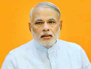 "Infosys executive co-chairman and president of the CII Kris Gopalakrishnan today heaped praise on Modi, describing him as ""a global leader"""