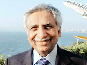 """""""The commercial agreement with Etihad will help us to expand network, reduce costs and increase profitability, """" says Naresh Goyal."""