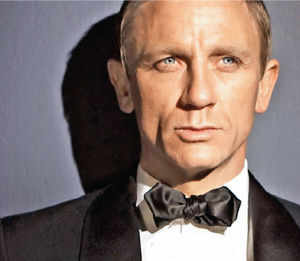 Black and white bow ties survived as elements of western formal wear but polka dots, stripes, flowered and patterned bows nearly went extinct. The 1950s and 1960s saw bow ties cropping up sporadically on both sides of the Atlantic – from Frank Sinatra and Dr Seuss' Cat in the Hat to James Bond.