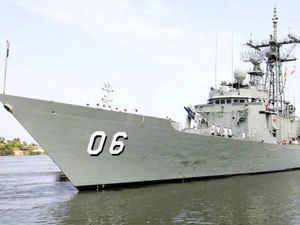 Four Indian front line warships on an operational deployment to the S China Sea and the Western Pacific has made a port call at Malaysia's Port Klang.