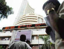 Sensex continued to remain on firm foot and surged over 200 points in afternoon trade on Monday, led by gains in index heavyweights Reliance Industries, Sun Pharmaceuticals and Bharti Airtel.