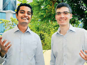 Kartik Srivatsa (managing partner) and Thomas Hyland (partner), Aspada Investment Advisors.