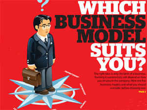 The right idea is only the birth of a business. Running it successfully will depend on how you structure the company. Here are five business models and what you should consider before choosing one.