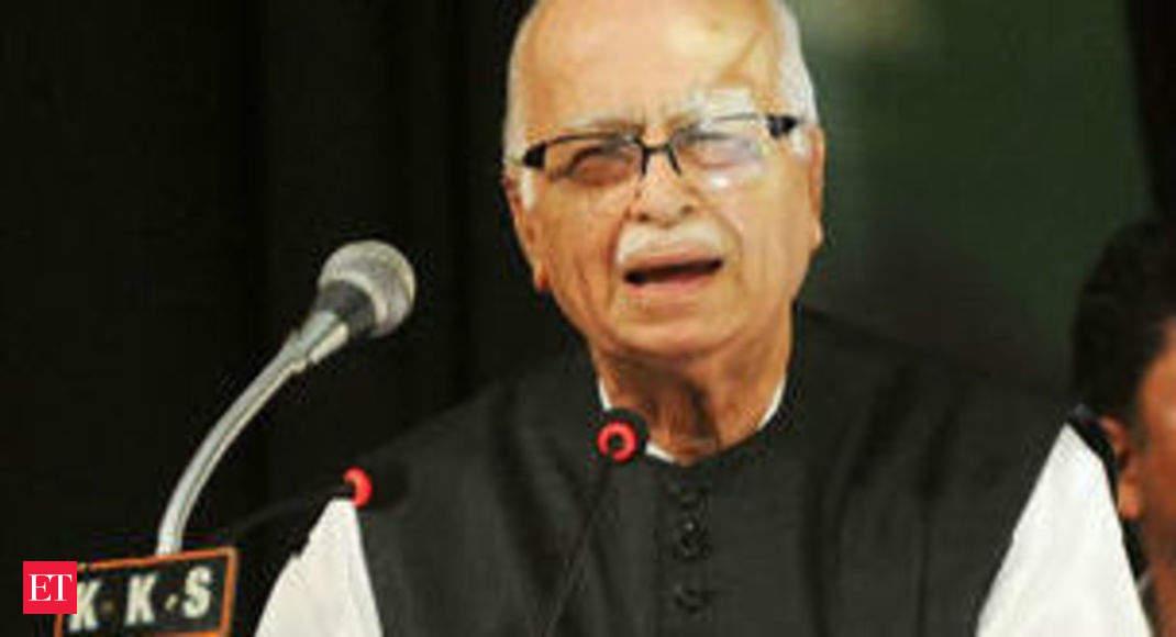Bhishma Pitamaha Hitler On L K Advani S Blog The Economic Times