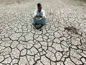 Global warming could lead to more extreme droughts in large parts of India, resulting in widespread food shortages and hardship in the country, in the next few decades