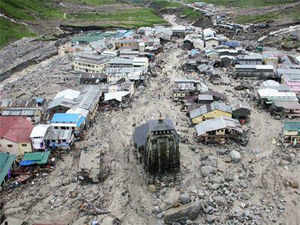 "It would take one year to restore normalcy on the road to Kedarnath from the after effects of the cloud burst which is described as a ""Himalayan tsunami""."