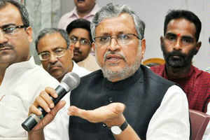 """BJP attacked Nitish Kumar for his """"sudden love"""" for Congress and said that the day was not far off when JD(U) leaders would raise slogans for Rahul Gandhi."""