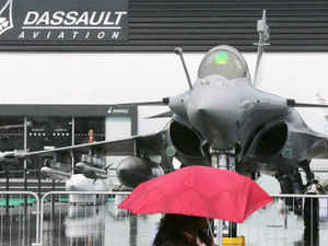 Hindustan Aeronautics Limited and French Dassault Aviation today reviewed the progress of their ongoing projects at the Paris air show