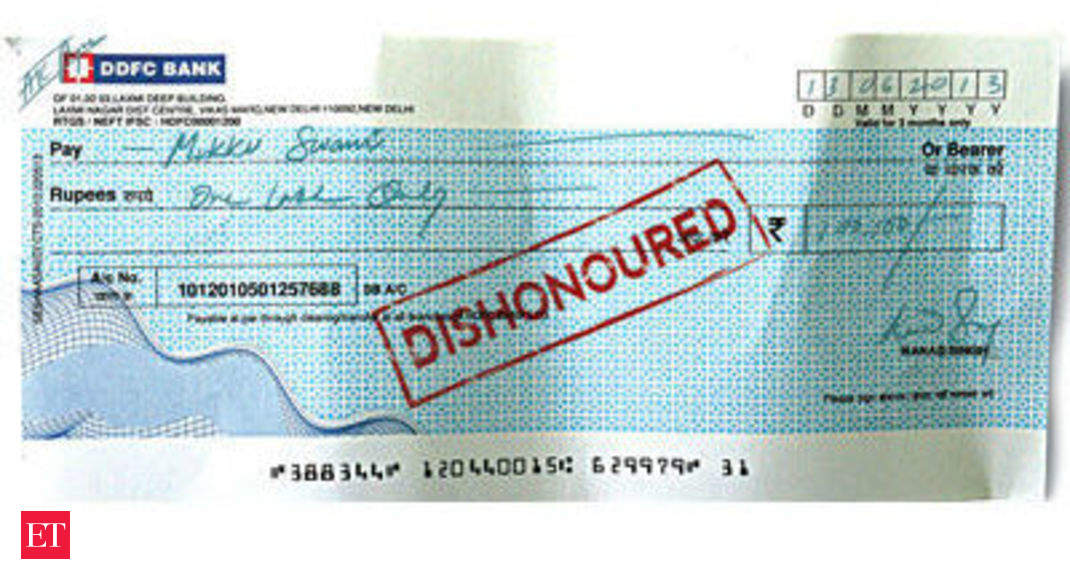 What If A Cheque Bounces Heres A Guide To The Legal Recourse