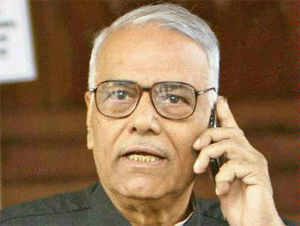 Asked about Modi's elevation, Sinha claimed it was because he has emerged as most popular leader in the country.