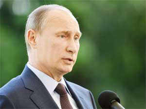 Vladimir Putin said Snowden is a free man and Russian had no reason to apprehend him, much less extradite him for lack of a treaty with the US that would allow it.