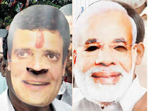 The floods in Uttarakhand have become an unlikely arena for a faceoff between Gujarat Chief Minister Narendra Modi and Congress Vice President Rahul Gandhi, spawning twitter hashtags and trading of political barbs, not to mention increased VIP chopper traffic in the flood-ravaged state.