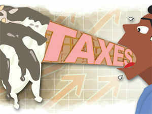 The tax authorities feel that ice-cream served by Amul, Vadilal and a host of others retail vends constitute a service and should be taxed accordingly
