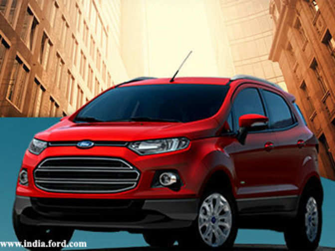 Ford EcoSport SUV Launched At A Starting Price Of Rs 559 Lakh
