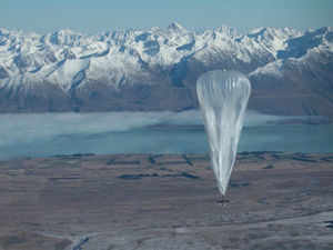 Google may implement its prestigious 'Project Loon', which is a balloon-mounted Internet access service, in various countries including India. AFP