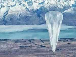 Google will float helium balloons over rural India for Internet connectivity if an experiment testing the concept yields promising results, a senior official of the company said.