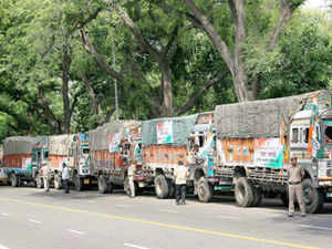 Of these, 96 ration-loaded trucks were sent by senior Congress leaders on behalf of Sonia Gandhi and its vice-president Rahul Gandhi.