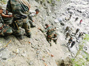 The rescue operations are coming close to a wind up and the focus is now on around 1,400 pilgrims reported to be stranded in Badrinath.