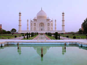 Travellers from across the globe have ranked India's Taj Mahal among the top three landmarks in the world, a leading travel website has announced.