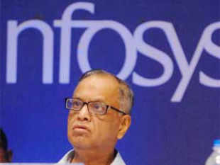 Bring the bad news early to win the trust of investors -- this was a piece of advice Narayana Murthy offered small business entrepreneurs.