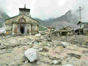 Rescue of pilgrims stranded in Badrinath came to an end today with about 150 of them being safely evacuated even as the administration struggled with the task of supplying relief to remote parts of Uttarakhand where foodgrain shortage has been reported in 170 villages.