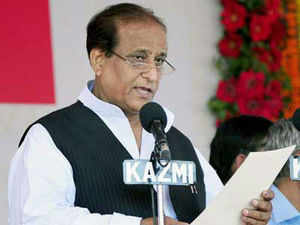 A local court has rejected a plea of the Uttar Pradesh government for withdrawal of a case lodged against state minister and SP leader Azam Khan for allegedly delivering a hate speech and using derogatory language against former Chief Minister Mayawati in 2007.