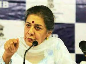 """I consider it very unfortunate as it comes at this stage, when we have just begun to work on the second phase of relief work,"" Ambika Soni said."