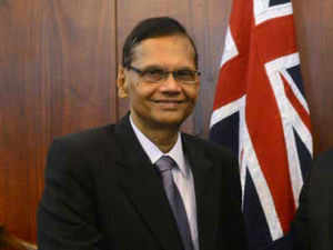 """""""Our dialogue with India is continuing. Basil Rajapaksa was in India yesterday. The two governments enjoy mutual understanding,"""" External Affairs Minister G L Peiris said."""