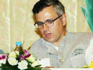 """Cautioning against people of Jammu and Kashmir being """"taken for granted"""", Omar Abdullah asked the Centre to engage with them politically in a dialogue."""