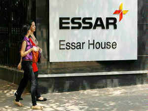 Essar group company Essar Projects has sought licence to distribute power in municipal area of Gurgaon in Haryana as the second energy supplier in the district, a government official said.