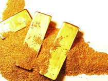 Gold in Singapore, which normally sets the price trend on the domestic front advanced 3.1 per cent to USD 1,298.73 an ounce.