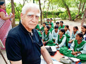 Rear Admiral (retired) Harish Malhotra is 78 years old, silver-haired and bursting with energy and strong opinions, both of which he expends with equal vigour
