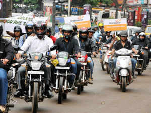 India's two-wheeler sales have contracted in the past four months (Feb-May 2013), the longest losing streak since the 12-month period ended February 2008. (Pic by BCCL)