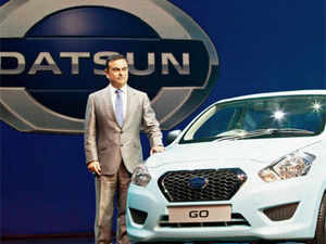 """""""Datsun would play an important role in Nissan Power 88 mid-term business plan,"""" Nissan Motor president and CEO Carlos Ghosn said while unveiling the new car."""