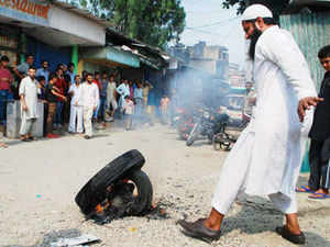 Protests rocked several areas of Jammu division on Friday to protest the firing incident in Ramban where curfew remained in force even as authorities stopped a fresh batch of Amarnath pilgrims from leaving for the shrine.