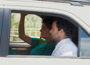 Rahul Gandhi and Priyanka Gandhi on Tuesday conducted interviews of shortlisted candidates for the post of block and city unit presidents of the district.
