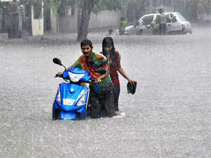 Of the six zones in the city, the central zone received the highest rainfall - 45 mm till afternoon, the official said.