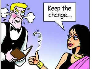 When in a foreign country, Indians take care to tip well, lest they are seen as cheap travellers, said a survey done by an online travel portal