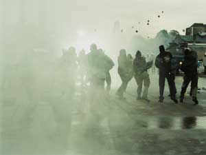 As many as 2,875 cases of rioting were reported in Uttar Pradesh during the first half of this year as compared to 2,854 last year.