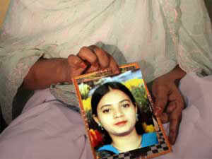 Pandey, an accused in the Ishrat Jahan  case, appeared in a Special Court here on a stretcher for hearing on his anticipatory bail application.