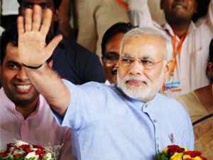 """Gujarat Chief Minister Narendra Modi today accused the Congress-led UPA government of playing """"vote bank politics"""" over food security."""